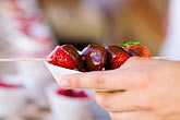 nourishment stock photography | Food, Strawberries and chocolate, image id 5-750-8787