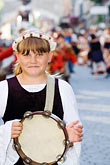 young girl stock photography | Canada, Quebec City, F�tes de la Nouvelle France, Parade, image id 5-750-8902