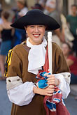 tricorn hat stock photography | Canada, Quebec City, F�tes de la Nouvelle France, Portrait, image id 5-750-8921