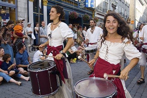 image 5-750-8932 Canada, Quebec City, Fetes de la Nouvelle France, Parade
