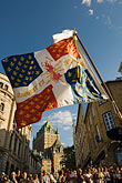flag stock photography | Canada, Quebec City, F�tes de la Nouvelle France, Parade, image id 5-750-9019