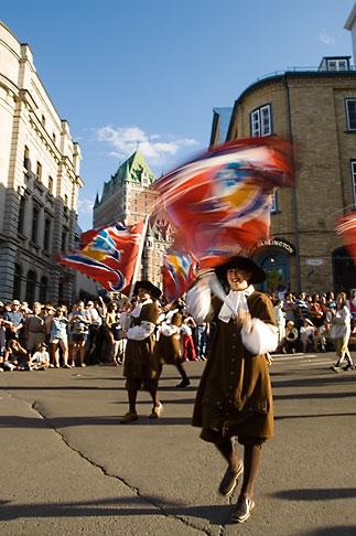 image 5-750-9023 Canada, Quebec City, Fetes de la Nouvelle France, Parade