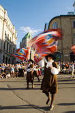 flag stock photography | Canada, Quebec City, F�tes de la Nouvelle France, Parade, image id 5-750-9023