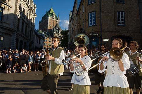image 5-750-9037 Canada, Quebec City, Fetes de la Nouvelle France, Parade
