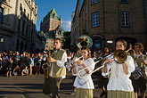 brass band stock photography | Canada, Quebec City, F�tes de la Nouvelle France, Parade, image id 5-750-9037