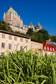 grass stock photography | Canada, Quebec City, Chateau Frontenac, image id 5-750-9226