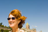 sunglasses stock photography | Canada, Quebec City, Portrait, image id 5-750-9251