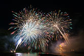 cascade stock photography | Canada, Quebec City, Loto-Qu�bec International Fireworks Competition , image id 5-750-9334