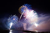 cascade stock photography | Canada, Quebec City, Loto-Qu�bec International Fireworks Competition , image id 5-750-9336