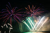 cascade stock photography | Canada, Quebec City, Loto-Qu�bec International Fireworks Competition , image id 5-750-9344