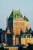 chateaux stock photography | Canada, Quebec City, Chateau Frontenac, image id 5-750-9416