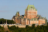 horizontal stock photography | Canada, Quebec City, Chateau Frontenac, image id 5-750-9467