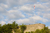 canadian flag stock photography | Canada, Quebec City, Citadel, Parc des Champs-de-Bataille, image id 5-750-9481