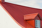red stock photography | Canada, Quebec, Isle d Orleans, Gable, image id 5-750-9541