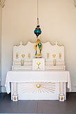 altar in roadside chapel stock photography | Canada, Quebec City, Isle d
