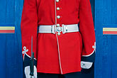 blue stock photography | Canada, Quebec City, Citadel, Honor Guard, Royal 22e R�giment, image id 5-750-9650