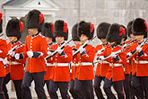 horizontal stock photography | Canada, Quebec City, Changing of the Guard, Citadel, image id 5-750-9687
