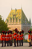 vertical stock photography | Canada, Quebec City, Changing of the Guard, Citadel, image id 5-750-9727