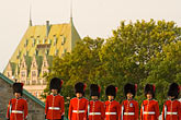 horizontal stock photography | Canada, Quebec City, Changing of the Guard, Citadel, image id 5-750-9738