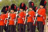 scarlet stock photography | Canada, Quebec City, Changing of the Guard, Citadel, image id 5-750-9774