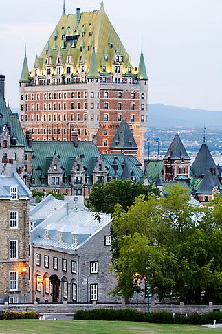 image 5-750-9825 Canada, Quebec City, Chateau Frontenac