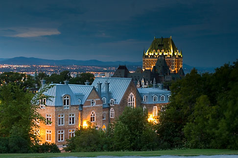 image 5-750-9853 Canada, Quebec City, Chateau Frontenac