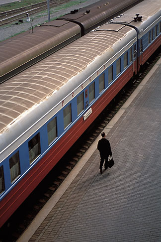 image 2-750-10 Russia, Vladivostok, Railway Station, Trans Siberian Railway
