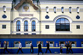 train station stock photography | Russia, Vladivostok, Railway Station, Trans-Siberian Railway, image id 2-750-21