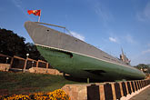 flag stock photography | Russia, Vladivostok, Pacific-Navy War Memorial, C-59 Submarine, image id 2-752-86