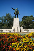old town square stock photography | Russia, Vladivostok, Lenin Monument, image id 2-753-47