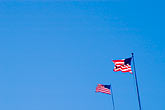 blue sky stock photography | Flags, US Flag, image id S3-310-54