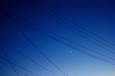 blue sky stock photography | California, Albany, Powerlines, image id S5-10-1555