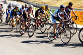 bicyclist stock photography | California, Monterey, Sea Otter Classic, image id S5-101-5702
