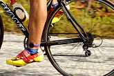 pedal stock photography | California, Monterey, Cyclist, image id S5-101-5777