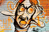 vandalized stock photography | Spain, Malaga, Graffiti, image id S5-125-7969