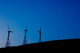 threesome stock photography | Spain, Tarifa, Windmills, image id S5-128-9750
