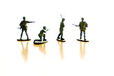 plain stock photography | Toys, Toy soldiers, image id S5-64-3818
