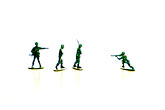 white background stock photography | Toys, Toy Soldiers, image id S5-64-3854