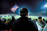 american flag stock photography | California, San Francisco, Baseball game, image id 1-690-26