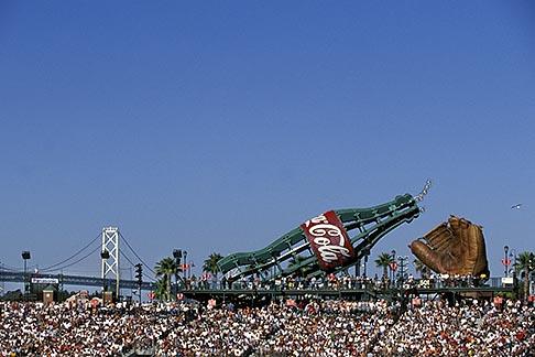 image 1-690-49 California, San Francisco, SBC Park, bleachers