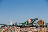 multitude stock photography | California, San Francisco, SBC Park, bleachers, image id 1-690-49