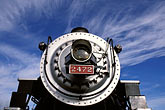 round stock photography | California, San Francisco Bay, Golden Gate Railroad Museum, SP locomotive 2472, image id 2-710-3