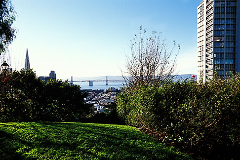 image 3-1013-56 California, San Francisco, Russian Hill, Vallejo Street Steps Park