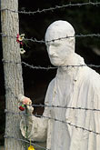 barbed wire stock photography | California, San Francisco, Holocaust Memorial, George Segal, 1984, image id 3-1014-14