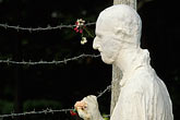 barbed wire stock photography | California, San Francisco, Holocaust Memorial, George Segal, 1984, image id 3-1014-20
