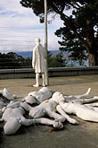 barbed wire stock photography | California, San Francisco, Holocaust Memorial, George Segal, 1984, image id 3-1014-29