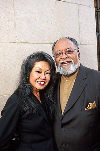 image 3-1015-14 California, San Francisco, Glide Memorial Methodist Church, Rev Cecil Williams and Janice Mirikitani