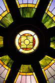 stained glass window stock photography | California, San Francisco, Stained Glass, St. Matthew