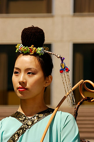 image 5-620-2947 California, San Francisco, Chinese Martial Artist