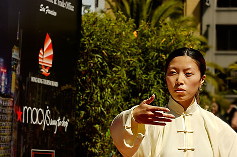 image 5-620-2982 California, San Francisco, Chinese Martial Artist